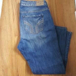 Hollister Distressed Boyfriend Jeans